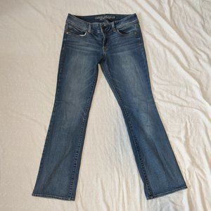 AEO Kick Boot Super Stretch Jeans Women's Size 10